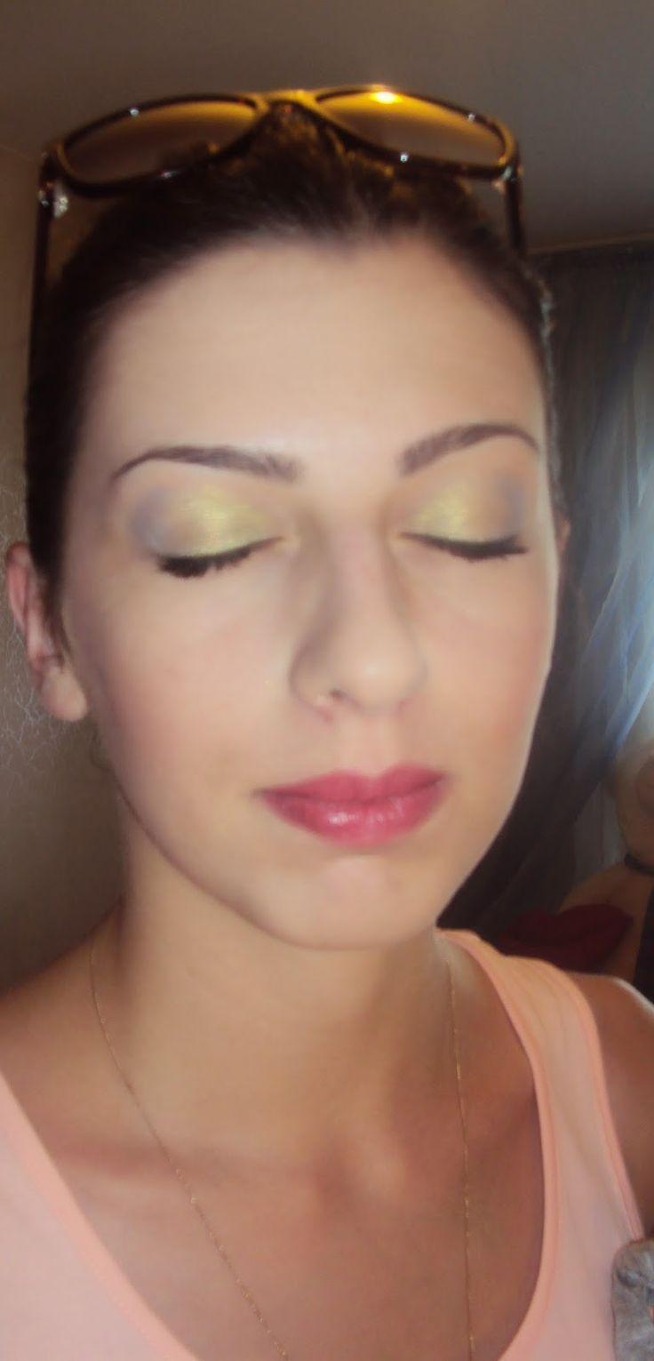 World of beauty of Zinaida: Легкий летний макияж..моя работа))