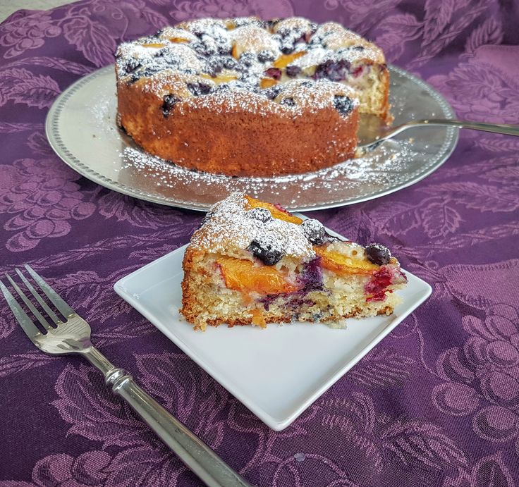 Peach and blueberry yogurt cake is a delightfully easy recipe to showcase the gorgeous in season summer fruits like peaches,…