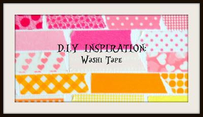 D.I.Y Inspiration- Washi tape. some fun ideas using washi tape. A blogpost by Magpie Calls