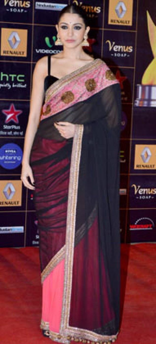 Anushka Sharma & Jacqueline Fernandez at Star Guild Awards Red Carpet | Fandiz India - Latest Indian Fashion Trends