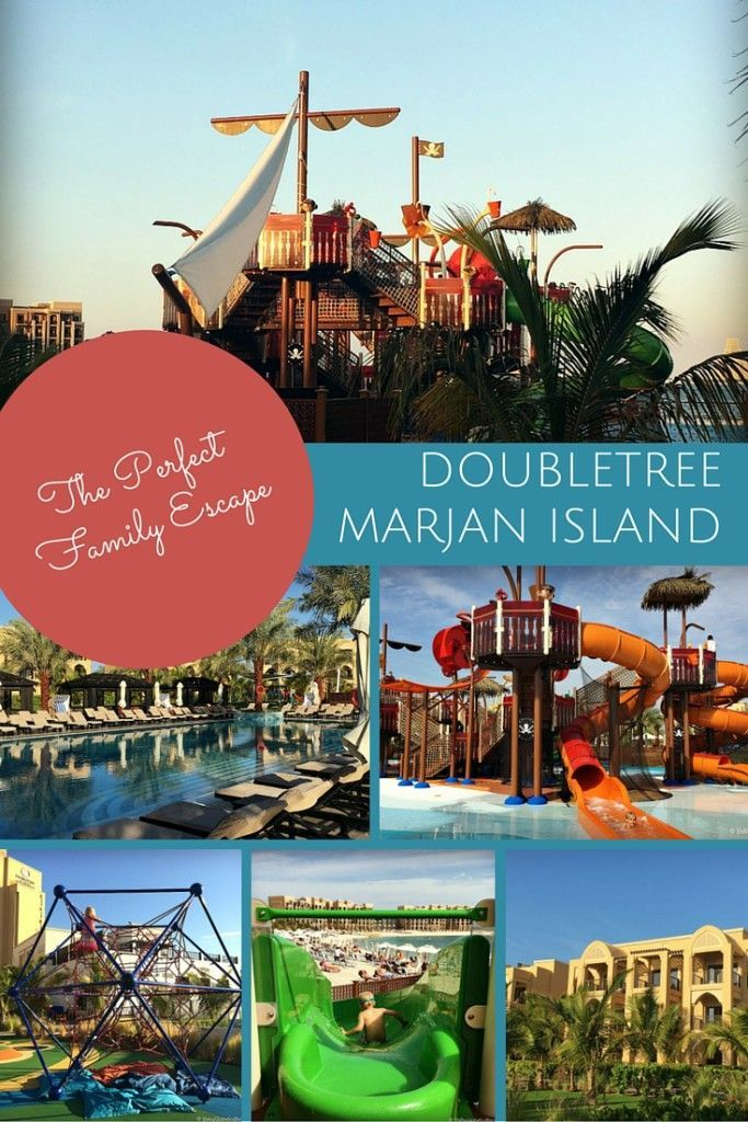 Well thought out family-friendly facilities make Doubletree Marjan Island, Ras al Khaimah the perfect resort retreat for families in the UAE | BabyGlobetrotters.Net