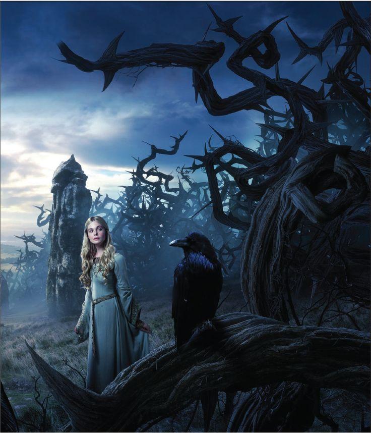 In the spirit of Maleficent's Aurora.