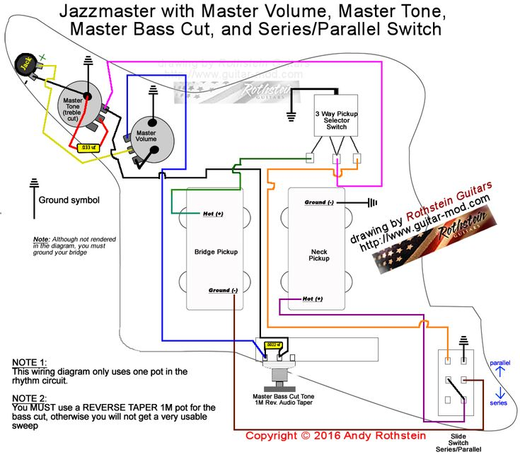 Fender 62 Jazz Bass Wiring Diagram from i.pinimg.com