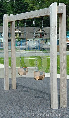 homemade swing set - Google Search