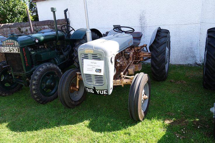 grey Ferguson 35 tractor, 1957