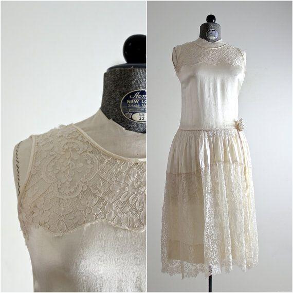 jaren 1920 jurk • 20s jurk • jaren 1920 bruiloft jurk • 20s bruiloft jurk •…