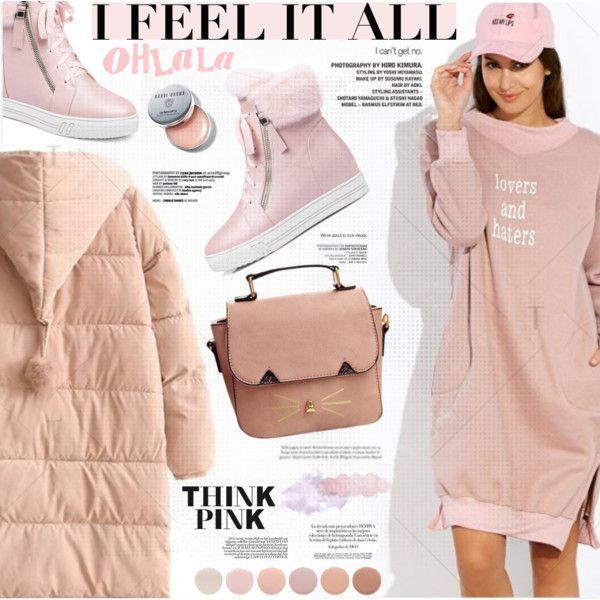 Think Pink by katjuncica on Polyvore featuring Bobbi Brown Cosmetics and Deborah Lippmann