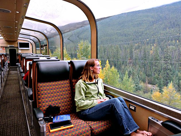 16 best via rail canadian rockies by train images on for Best train vacations in the world