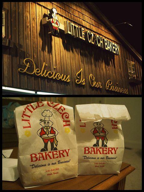 Kolaches, Little Czech Bakery in West, Texas  THE BEST IN TX !!