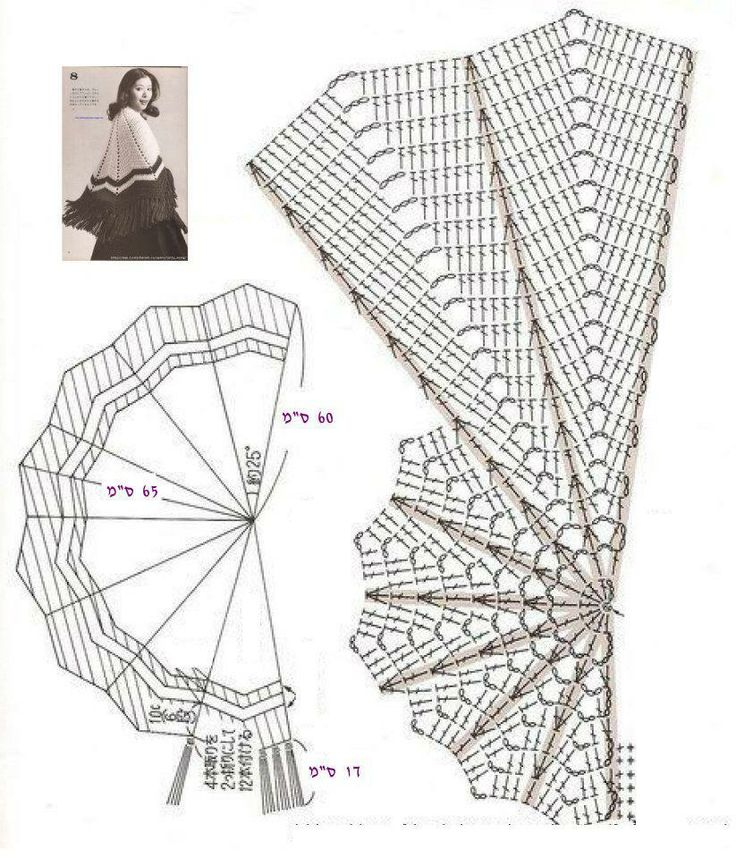 5313 best shawls and scarfs images on Pinterest | Crochet shawl ...