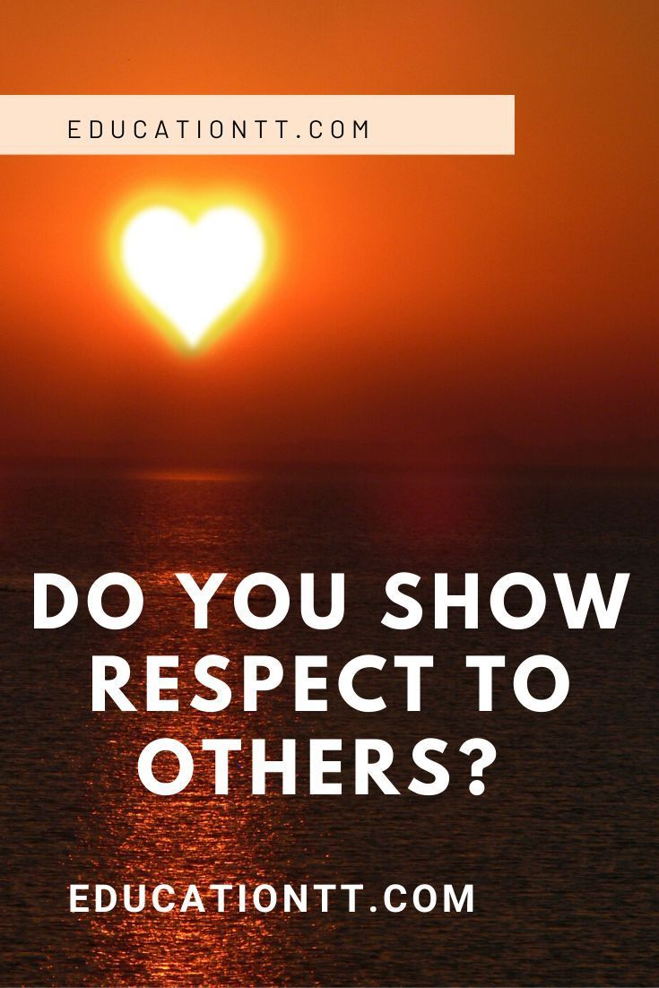 Do You Show Respect to others? Two of the Oxford