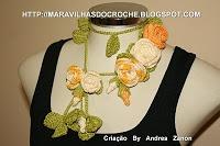 MARAVILHAS DO CROCHE   http://maravilhasdocroche.blogspot.pt/#Crochet Jewelry, Ems Crochet