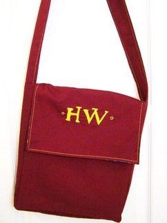 Harry Potter House Color Messenger Bag