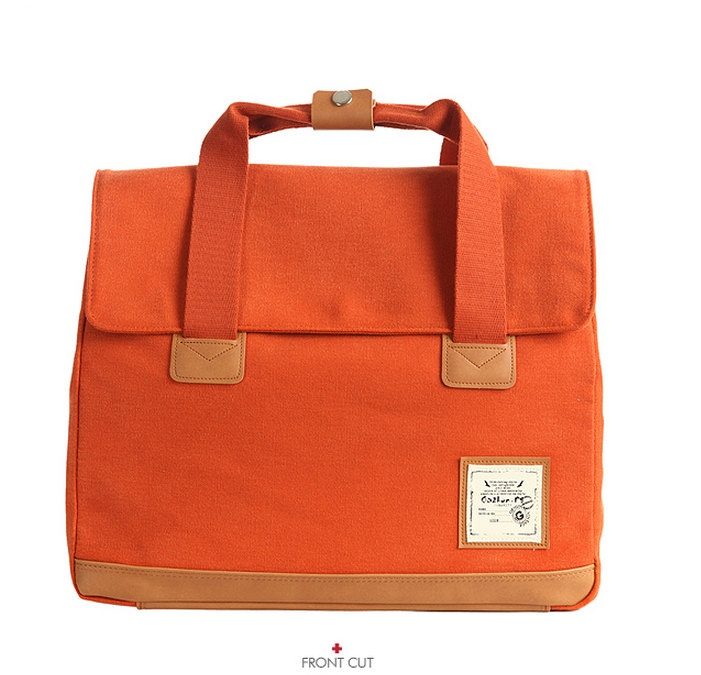 Webbing227 Multi Backpack and Shoulder and Tote Bag (Orange). $63.50, via Etsy.