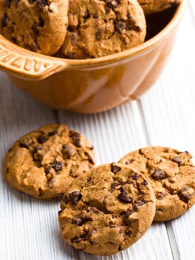 The Aquamarine Ginger: Recipe for chocolate chip cookies for Santa Claus