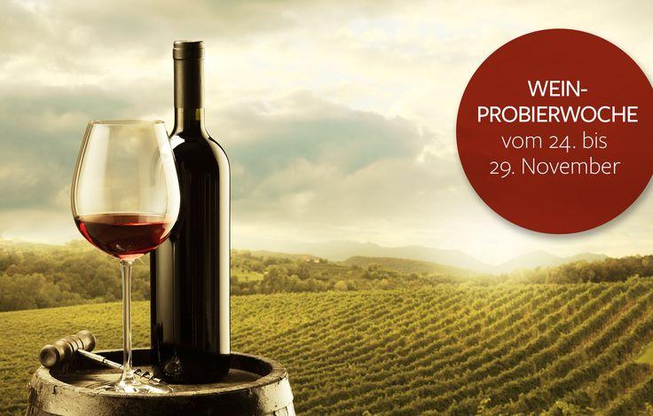 Weinprobierwoche bei Deine Rezeptgalerie, vom 24. - 29.11.14