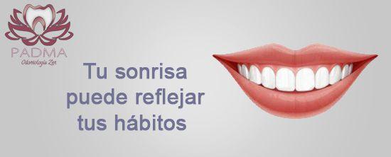Tu sonrisa puede reflejar tus hábitos y tu modo de alimentación