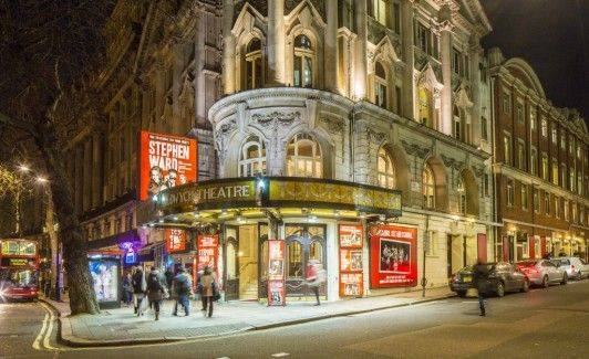 The Aldwych Theatre in London's Covent Garden.