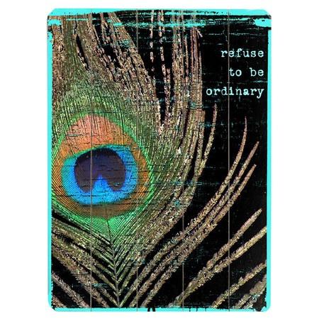 Refuse to Be Ordinary - #Wall Ar#