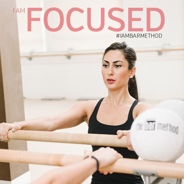 """""""I leave class with a lot more clarity and I'm ready to face the day."""" #IAMBARMETHOD"""