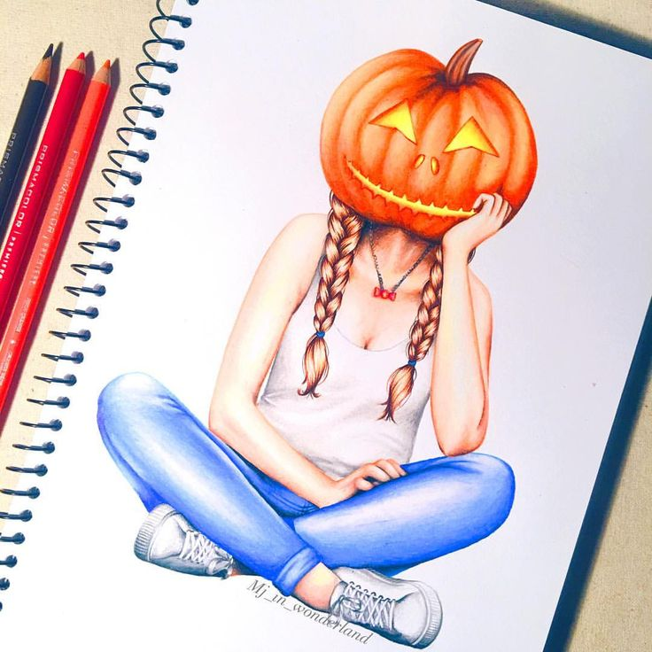 """325 Likes, 17 Comments - Mytharia Jazz  (@mj_in_wonderland) on Instagram: """"Pumpkin head  What are you guys dressing up as for Halloween? """""""
