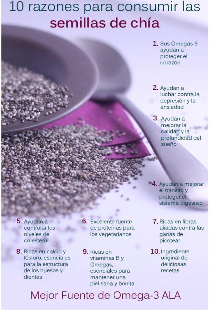 Semillas de CHÍA para adelgazar