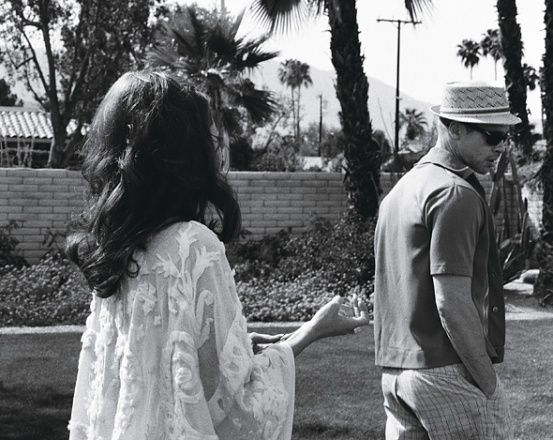 Photos: Brad and Angelina: Domestic Bliss - Black and white, Brad and Angelina in vintage -Wmag