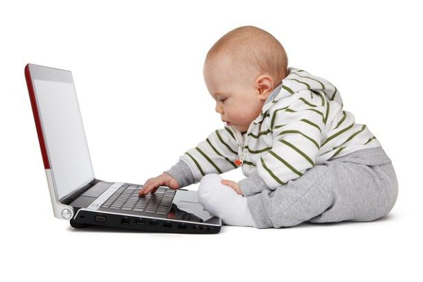 no screen time for children under two years old