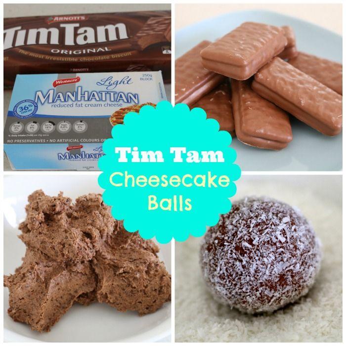 Tim Tam Cheesecake Balls Recipe