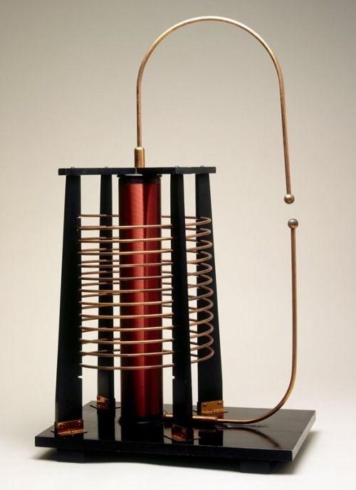 tesla coil u201d high frequency discharge demonstrator 1931 nikola tesla rh pinterest com