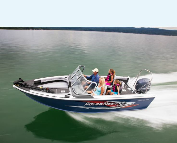 27 best polar kraft kodiak sport models images on for Fish and ski boat