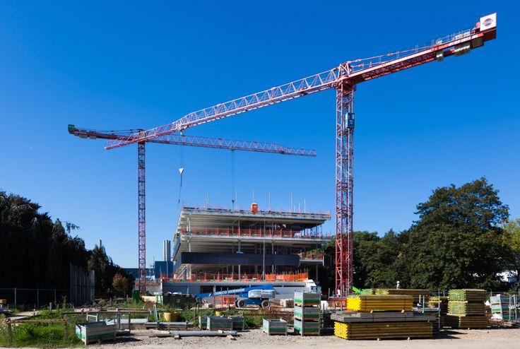 Center Court in aanbouw op Brightlands Chemelot Campus, 2 oktober 2015