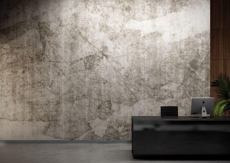 "Wallcovering Ethnic Natural Surfaces: ""Gobi"" by Glamora"