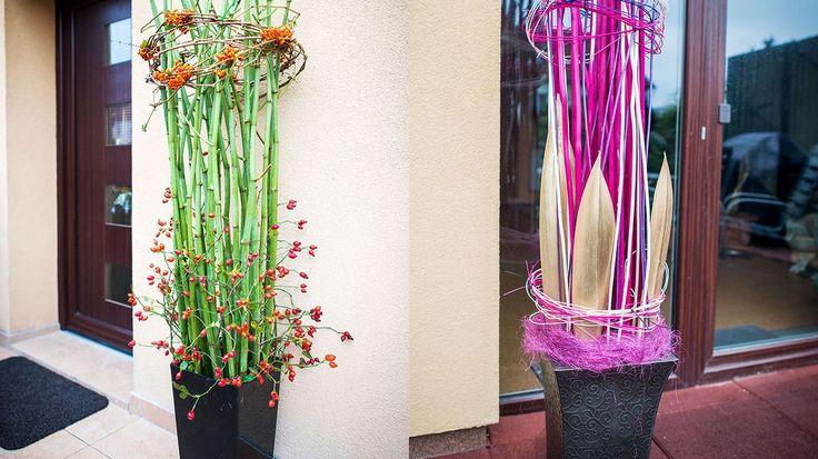 Jak ozdobit vchod do domu? Vyrobte si jednoduchou suchou dekoraci! - Hobby