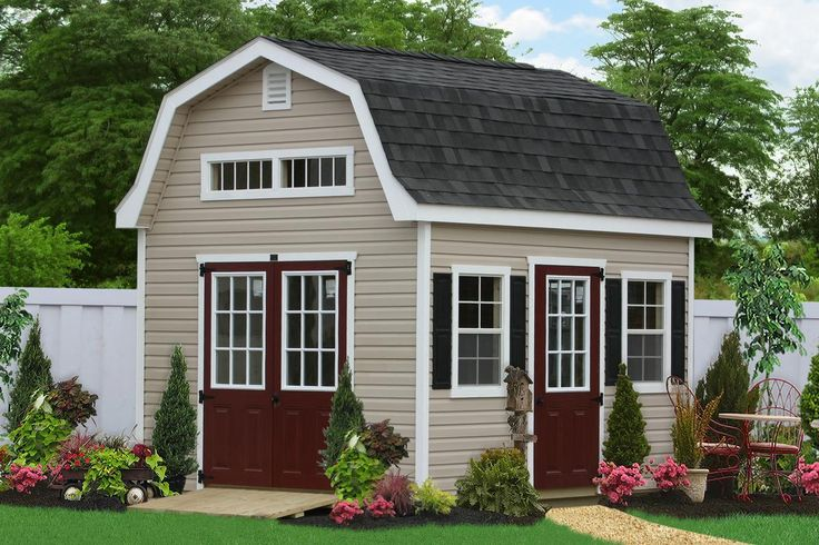 Best 25 Vinyl Sheds Ideas On Pinterest Covered Patios