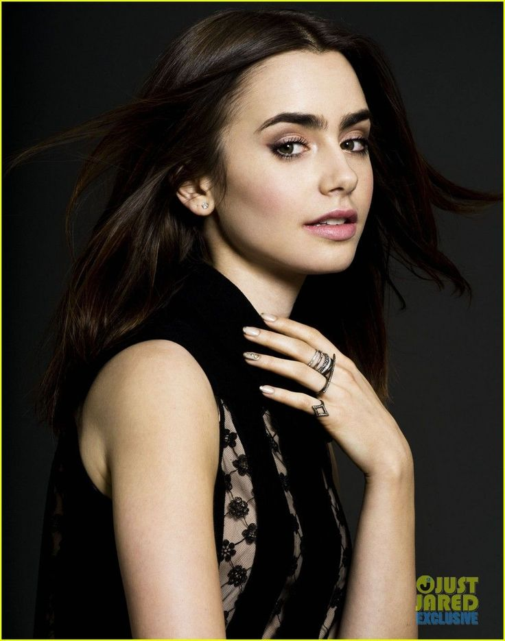 "Lily Collins: Just Jared Spotlight of the Week - Photo shoot credits: Producer: Jared Eng (@JaredEng) Photographer: Justin Campbell (@JustJustinNYC) Stylists: Rob Zangardi and Mariel Haenn (@Rob Cawte Cawte zangardi and @Mariel ""Maya"" ""Maya"" Haenn) Makeup: Kayleen McAdams (@Kayleenmcadams) Hair: Mara Roszak (@Maridon Hinds-Hergenreter Bradley Roszak)"