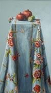 Sasja Wagenaar - Gebloemd tafelkleed met granaatappels