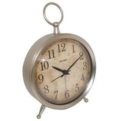 Westclox Analog Alarm Clock Metal Case Battery Operated