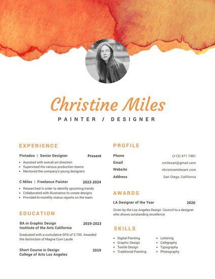 13 best Resumes images on Pinterest Resume templates, Resume - commercial photographer resume