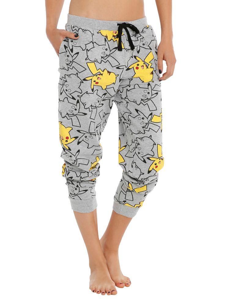Pokemon Pikachu Girls Pajama Pants   Hot Topic