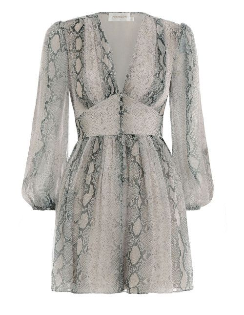 acc66a7d9ad Zimmermann Corsage Fluted Playsuit. Product Image.