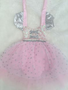 Good Witch Pink Sparkle Romper Good Witch Tutu Costume Girls Baby