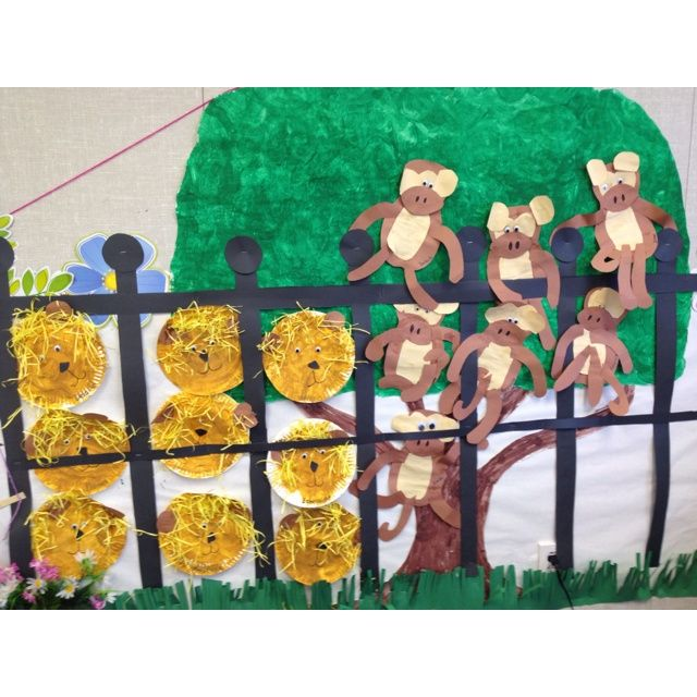 zoo bulletin board | Zoo animals | Classroom Bulletin Boards