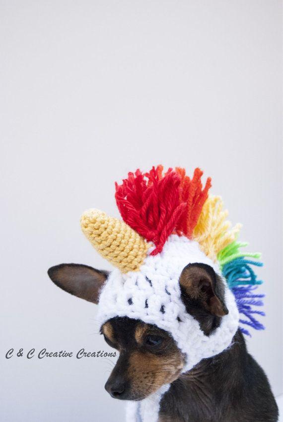 Crochet Dog Costume - Meningrey