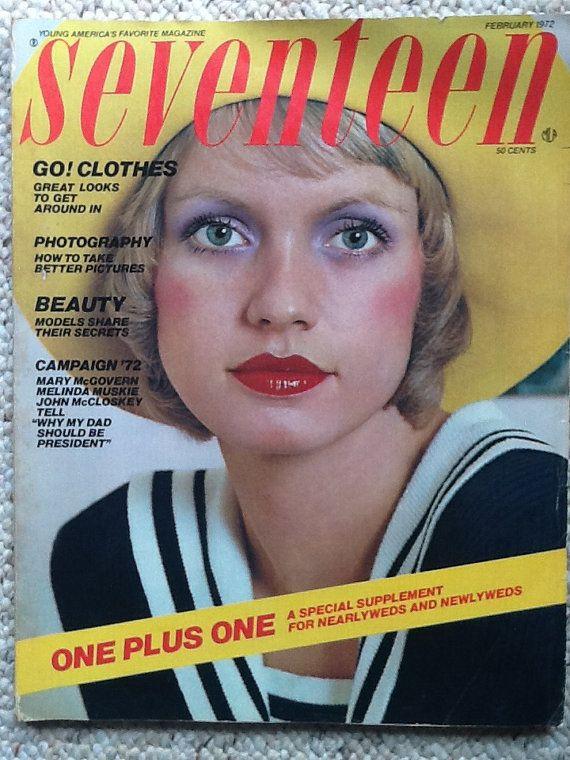 Seventeen Magazine February 1972 Wedding by VintageFlaunts on Etsy