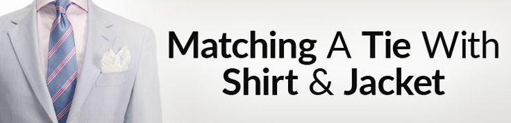 5 Tips Matching Ties Shirts