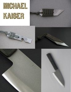 Michael Kaiser -- handmade titanium bottle openers and knives