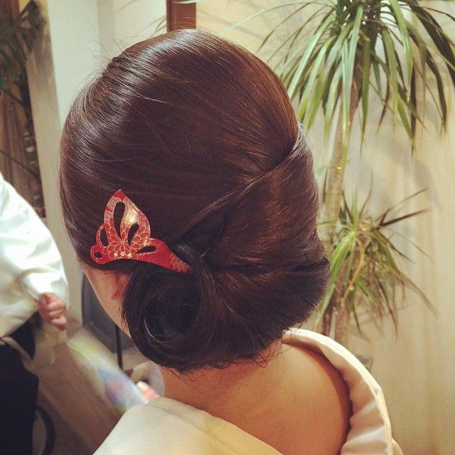着物に似合う髪型|Instagram on Pinterest|似合う髪型