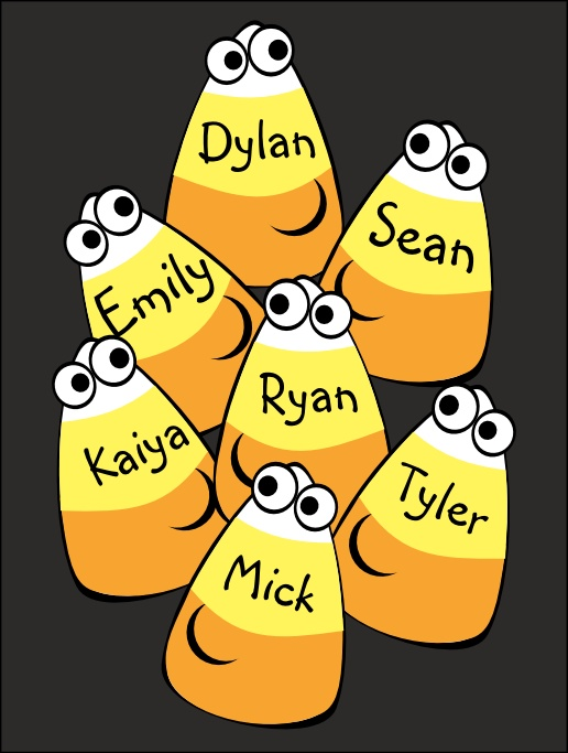 name tag template - Halloween Name Ideas