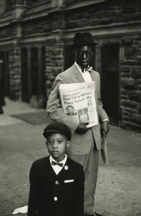 New York City, 1962, photo by Bruce Davidson, from Time of Change: Civil Rights Photographs from 1961-1965